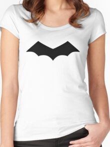 First Bat Women's Fitted Scoop T-Shirt