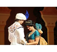 Aladdin's final performance Photographic Print