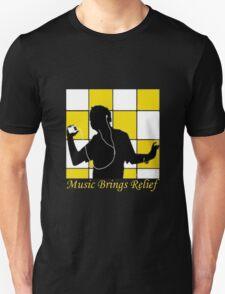 Music Brings Relief Unisex T-Shirt