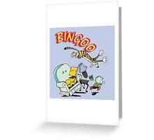 bingoo Greeting Card