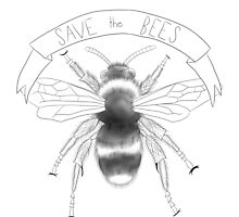 Save the Bees by MandaVC