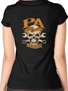 Pa The Man The Myth The Legend Women's Fitted Scoop T-Shirt