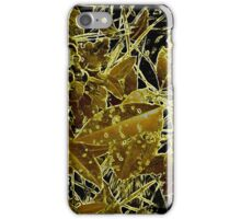 It's The Gold Standard In Bug Altered Leaf Design  iPhone Case/Skin