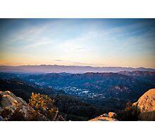 Santa Monica Mountains Photographic Print