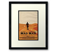 MAD MAX: FURY ROAD - FURIOSA Framed Print