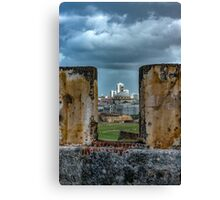 A Fort with a View Canvas Print