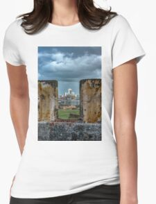 A Fort with a View Womens Fitted T-Shirt