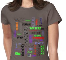 """Gamer Tags - COLORS""© Womens Fitted T-Shirt"