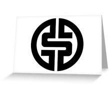 $ Logotype 01 2012 Greeting Card