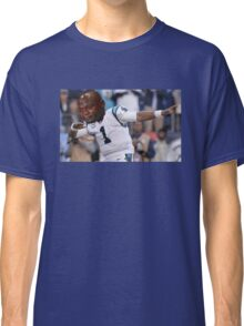 Dabbing the Pain Away (Cam Newton Superbowl 50 Loss) Classic T-Shirt