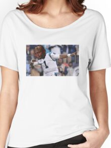 Dabbing the Pain Away (Cam Newton Superbowl 50 Loss) Women's Relaxed Fit T-Shirt