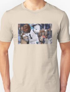 Dabbing the Pain Away (Cam Newton Superbowl 50 Loss) Unisex T-Shirt