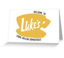 Gilmore Girls - Luke's Diner Greeting Card