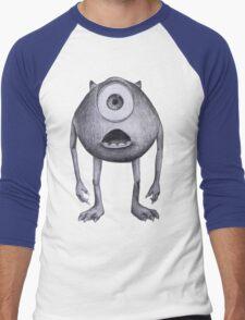 Mike Wazowski  Men's Baseball ¾ T-Shirt