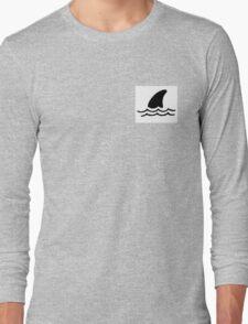Shark in water Long Sleeve T-Shirt