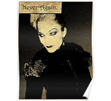 Never Again. Poster