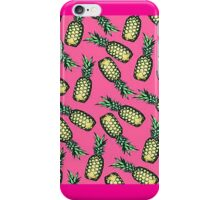 Pink Pineapples iPhone Case/Skin