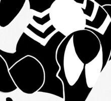 Symbiote Spiderman Sticker