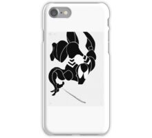 Symbiote Spiderman iPhone Case/Skin