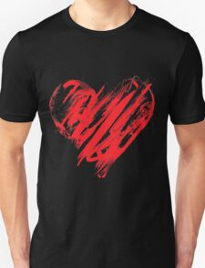 valentine day heart as wells as happy T-Shirt