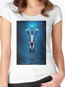 Maschinenmensch #3 Women's Fitted Scoop T-Shirt