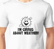 "Funny Quote ""Cirrus Cloud Geek Nerd Boffin"" Unisex T-Shirt"