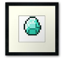 Diamond Supply Pixel Diamond Framed Print