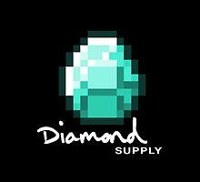 Diamond Supply Pixel Diamond by ikillwithnostyl