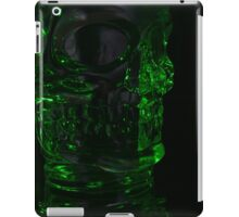 Green Skull Nightmares iPad Case/Skin