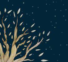 Moonlit Tree Sticker