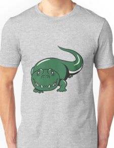 Crocodile dangerous cool Unisex T-Shirt