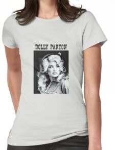 Dolly Parton Young Womens Fitted T-Shirt