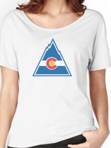 Colorado Rockies Hockey Women's Relaxed Fit T-Shirt