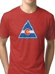 Colorado Rockies Hockey Tri-blend T-Shirt