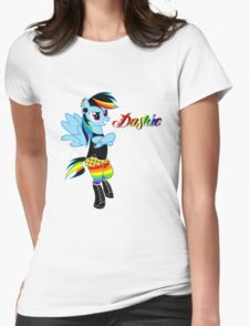 Punk Dashie Womens Fitted T-Shirt