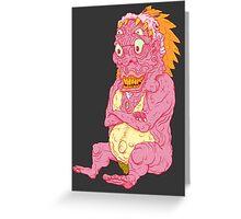 Wrinkle-King Greeting Card