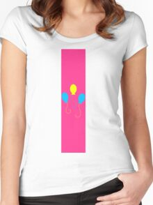 Pinkie Mark Women's Fitted Scoop T-Shirt