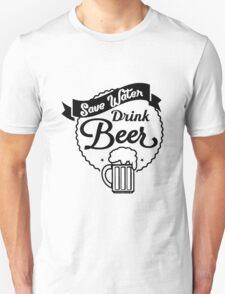 "Funny Quote ""Drinking Booze Alcohol Beer"" T-Shirt"