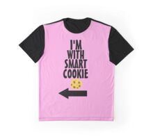 I'm With Smart Cookie Graphic T-Shirt