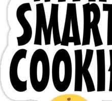 I'm With Smart Cookie Sticker
