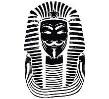 Pharaoh V For Vendetta Photographic Print