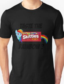 Taste The Rainbow? (BLACK TEXT) T-Shirt