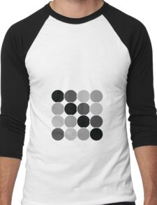 Spotty Checks | Mono Men's Baseball ¾ T-Shirt