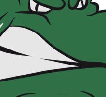 Crocodile dangerous wicked cool Sticker