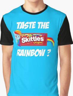 Taste The Rainbow? (WHITE TEXT) Graphic T-Shirt
