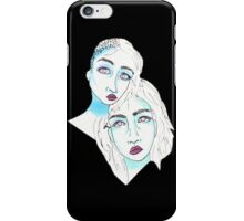 Two Minds iPhone Case/Skin