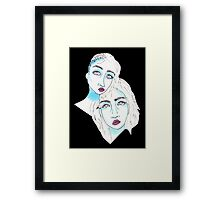 Two Minds Framed Print