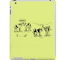 Zoo Humour - Cartoon 0016 iPad Case/Skin