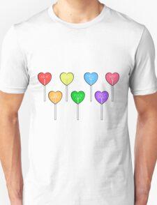 all 7 heart lollipops T-Shirt