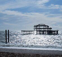 Brighton West Pier by Sue Robinson